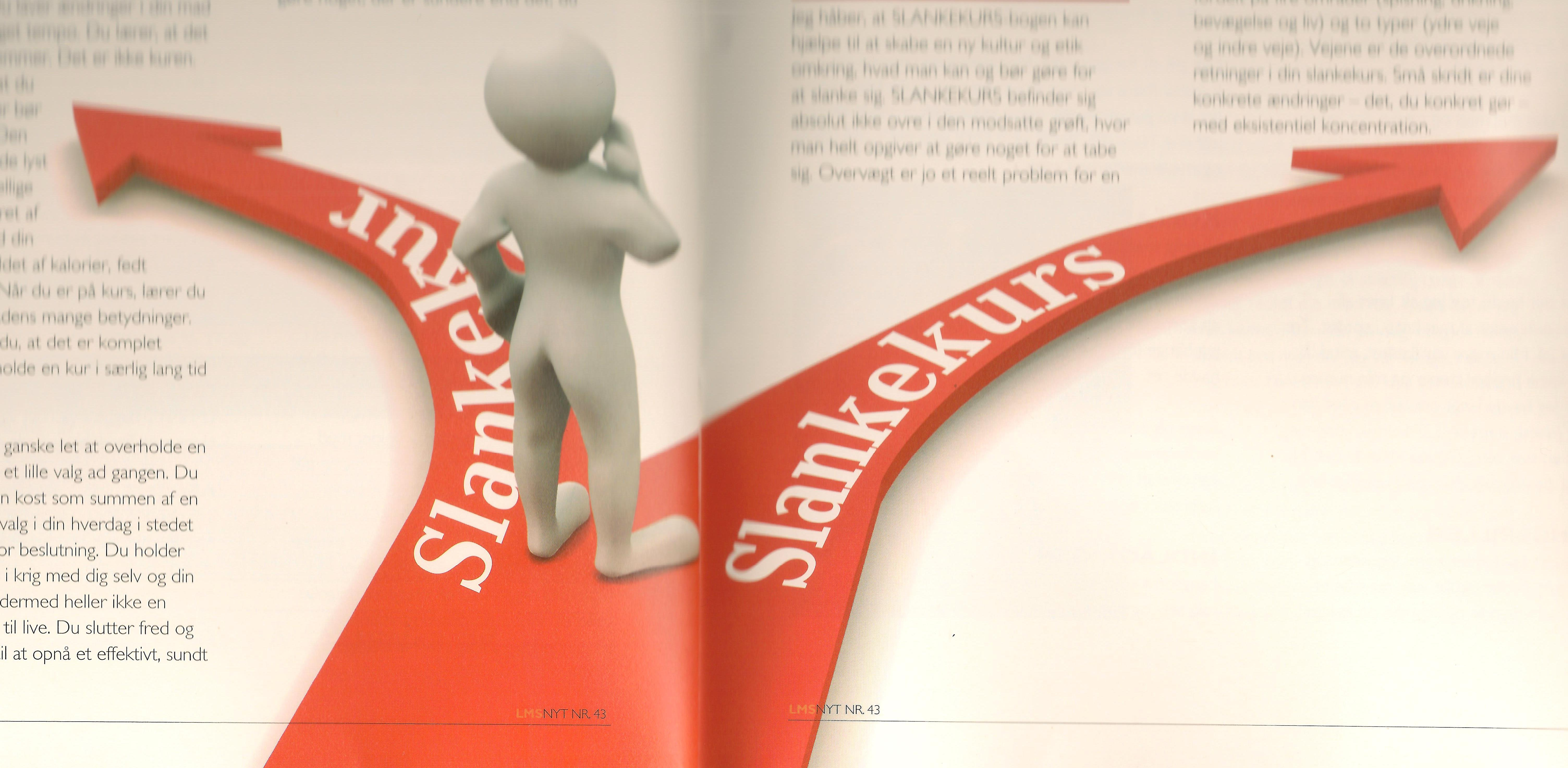 Slankekur vs slankekurs LMS