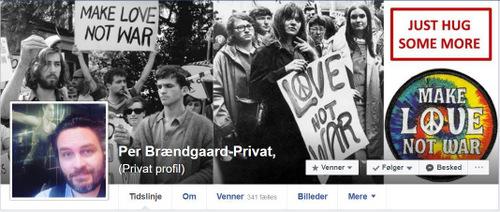 Privat profil på Facebook Per Brændgaard