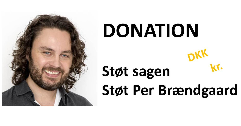 Donation til Per Brændgaard