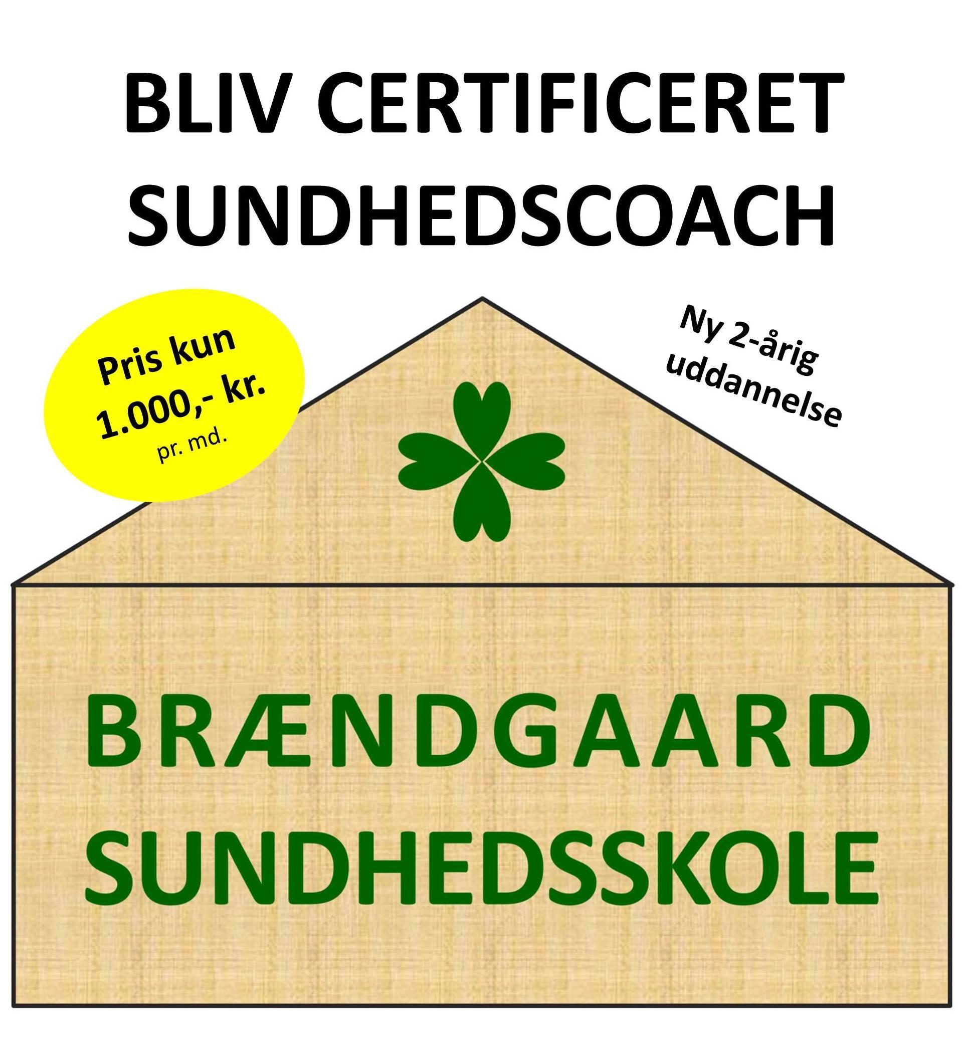Bliv certificeret sundhedscoach på Brændgaard Sundhedsskole
