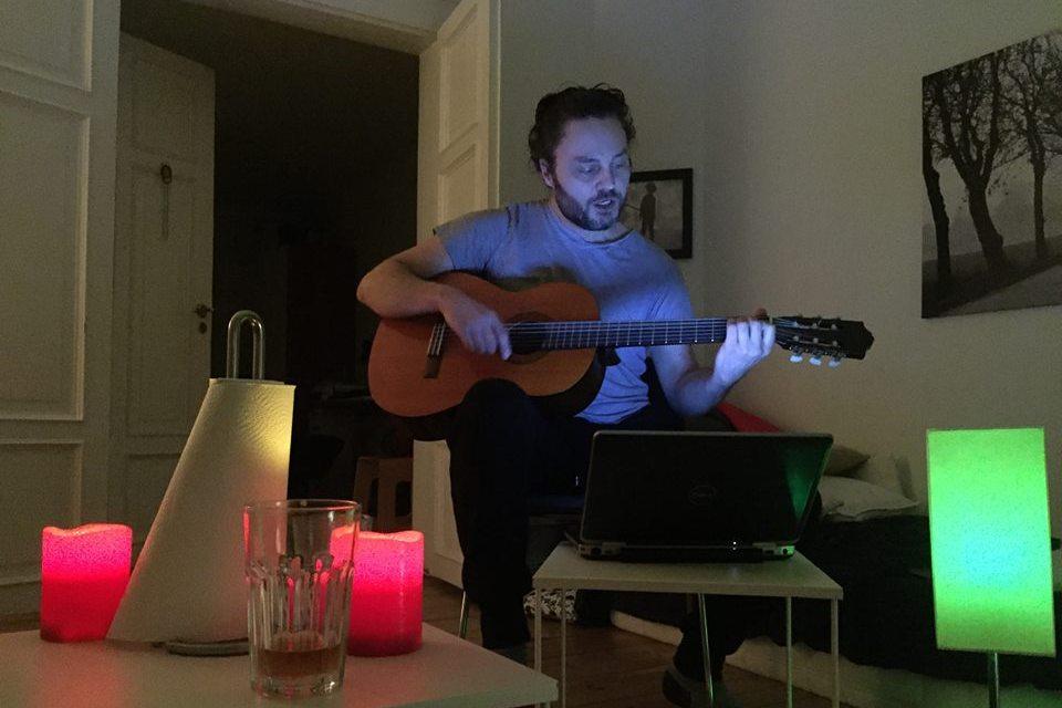 Hjemmelavet musik med Per Brændgaard