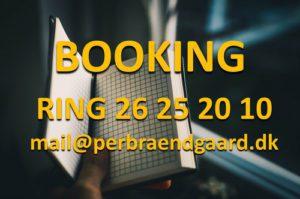 Booking af Per Brændgaard