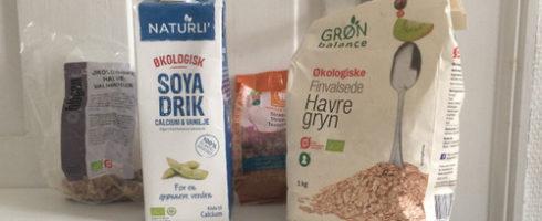 Langtidsholdbare ingredienser i havregrynskuren
